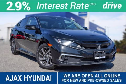 Pre-Owned 2019 Honda Civic Sedan EX